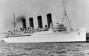 1900年代の蒸気船